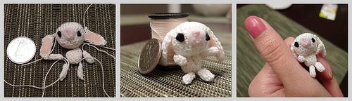 Tiny Crochet Bunny