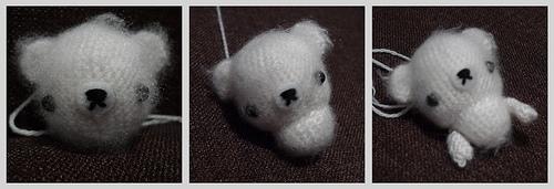 Fuzzy White Bear