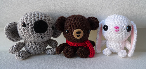 Koala, Bear and Bunny