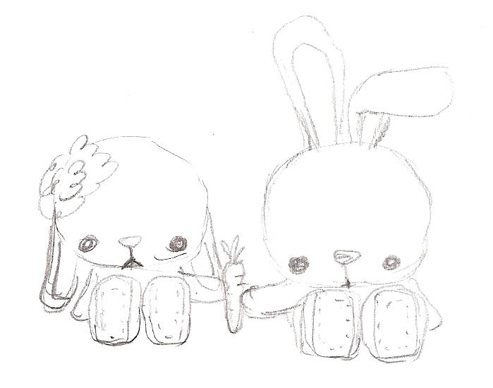 spring-bunny-sketch