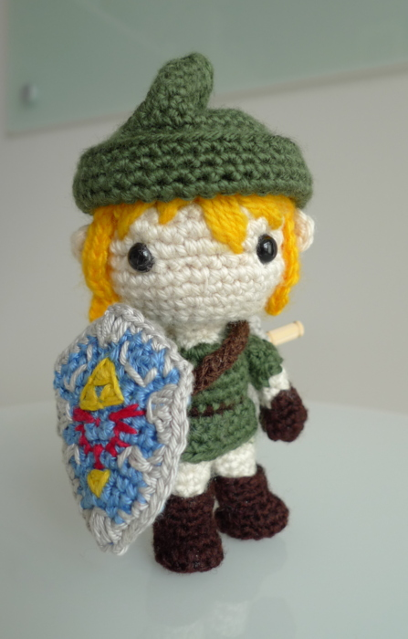 Baby Zelda Knitting Pattern : Link - All About Ami