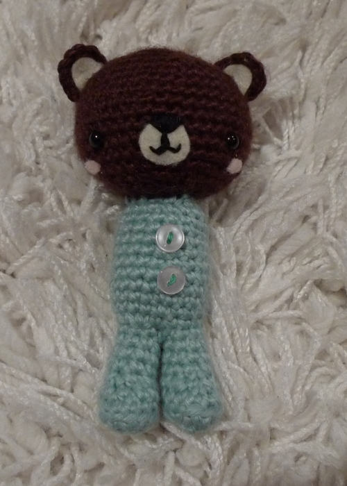 Crochet P.J. Teddies