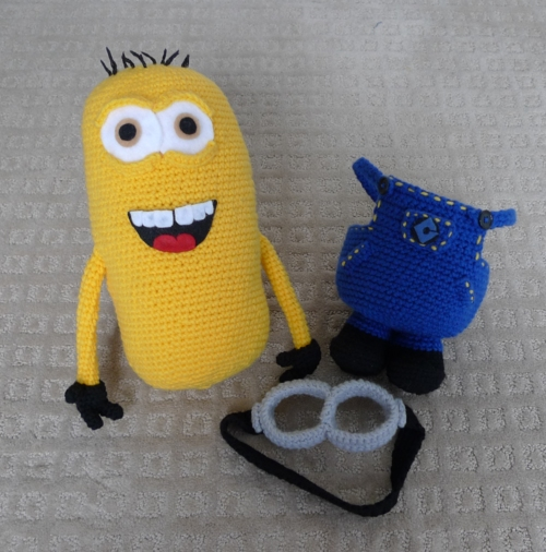 Crochet Despicable Me Minion
