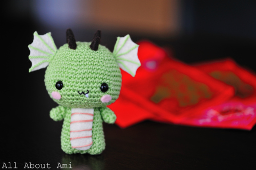 Crochet Chinese New Year Dragon Amigurumi