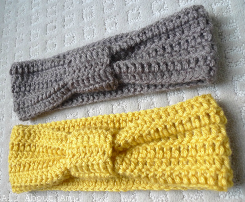 Crochet Knotted Headband