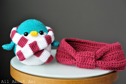 Snuggles the Crochet Penguin