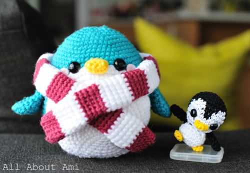 Penelope The Penguin: Free Crochet Penguin Amigurumi Pattern | | 347x500