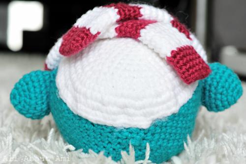 Snuggles the Crochet Penguin