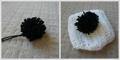 Crochet Baby Panda Outfit