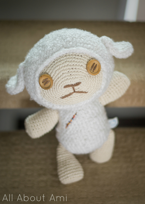 Crochet Cotton the Lamb from Oblivion Island