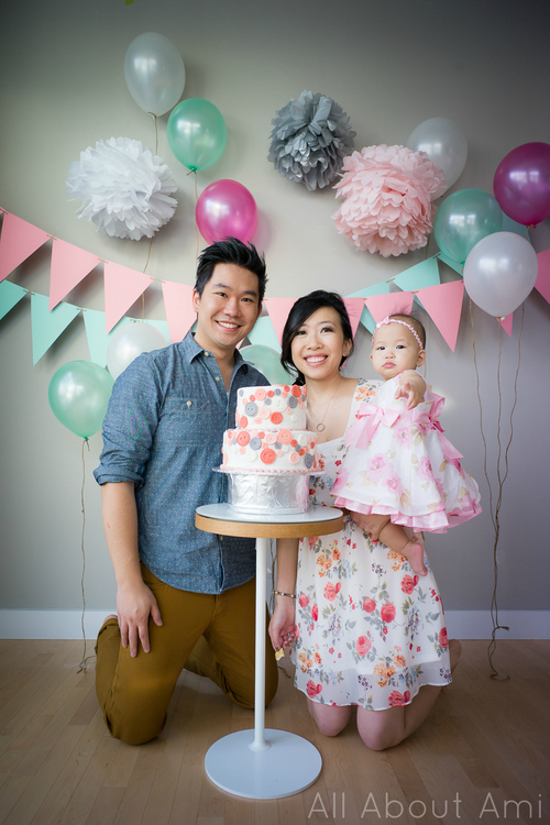 Mylas Cute As A Button 1st Birthday Party All About Ami
