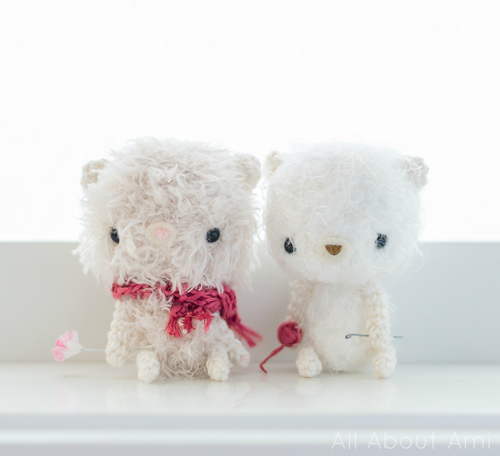 Fuzzy Fluff Bears | DIY Christmas Gifts For Everyone In Your List
