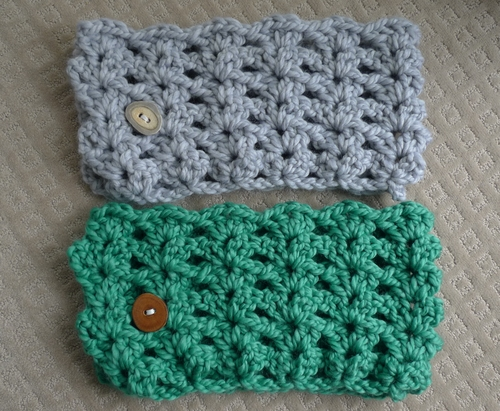 beginning shell crochet