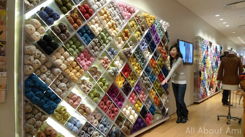 Superior Four Years Ago We Paid A Visit To The U201cLion Brand Yarn Studiou201d On Our Trip  To New York City. I Had Just Rediscovered My Love Of Crochet And Began  Making My ...
