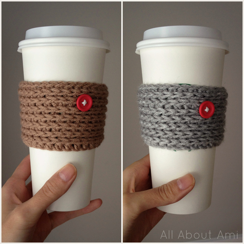 15 Minute Crochet Coffee Sleeves