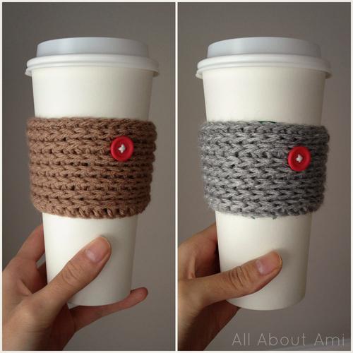 15 Minute Crochet Coffee Sleeves