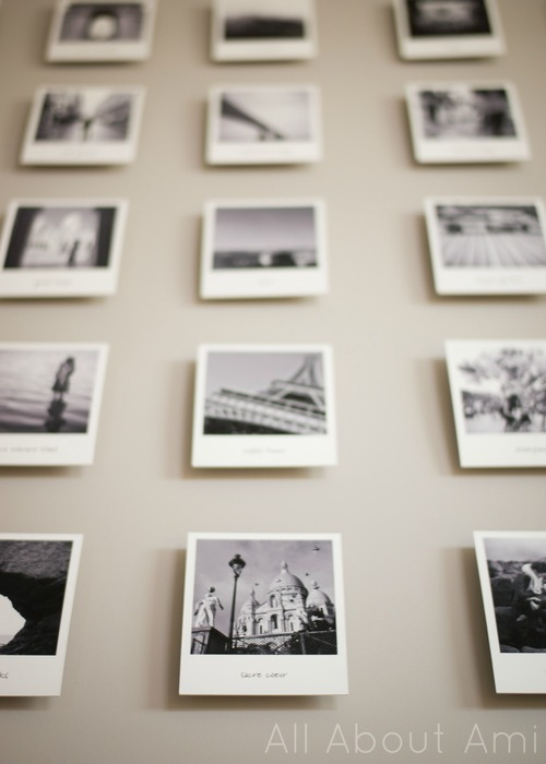 Polaroid Travel Photo Wall All About Ami