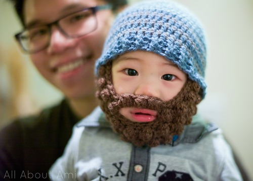 Bobble bearded beanies all about ami image dt1010fo