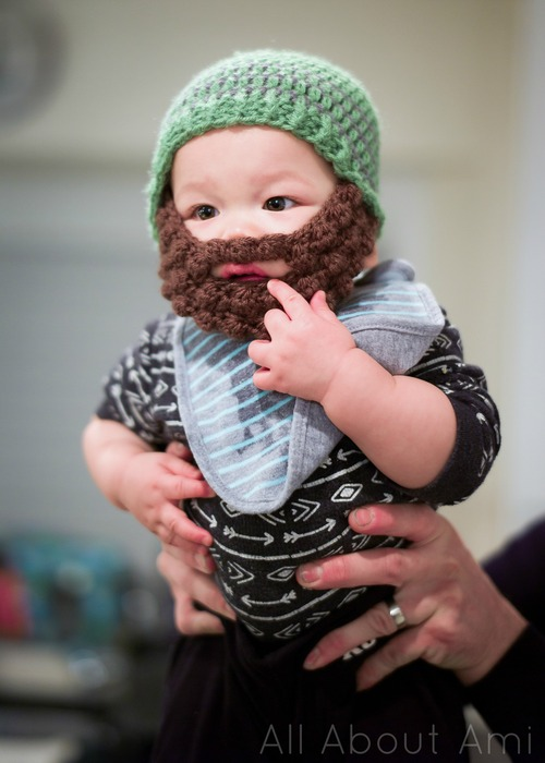 b89ebcc5316 Bobble Bearded Beanies - All About Ami