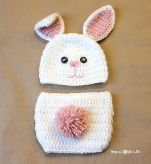 Baby Bunny Outfit by Repeat Crafter Me