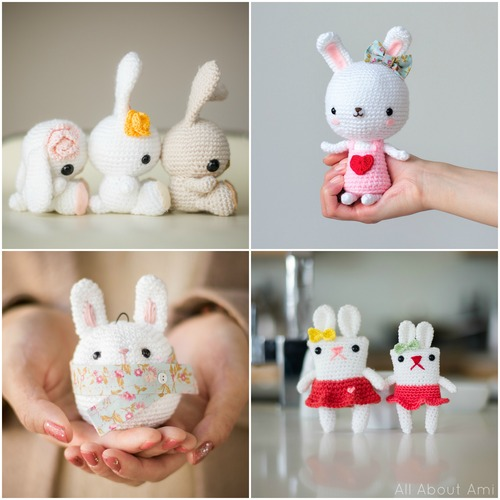 All About Ami Crochet Amigurumi Bunnies