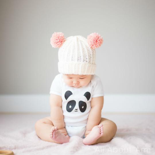 ef1d1be83 Bear Pom Beanie - All About Ami