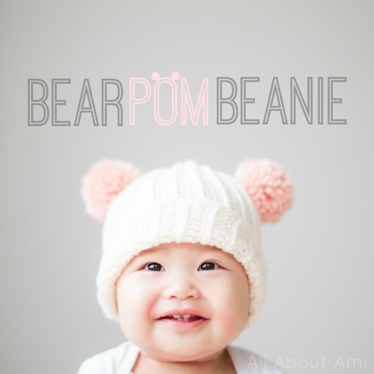 Bear Pom Beanie - All About Ami 37ae42621f4