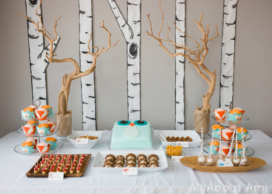 Woodland Creature Birthday Party