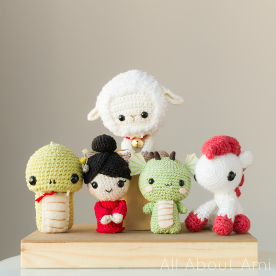 Crochet Chinese New Year Amigurumi