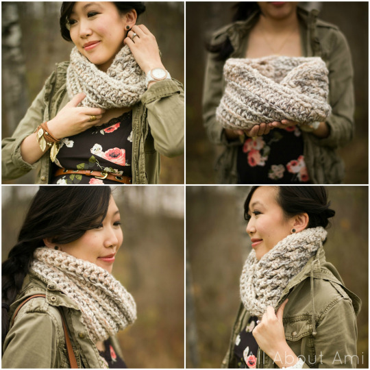 The Twist Cowl by All About Ami