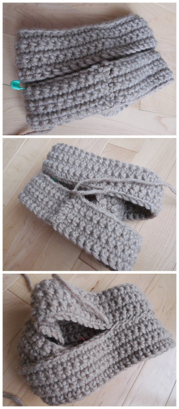 Crochet Twist Headband