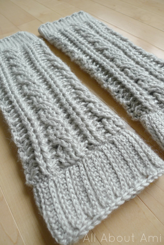 Cabled Legwarmers/Boot Cuffs