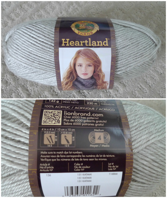 Heartland Yarn by Lion Brand Yarn