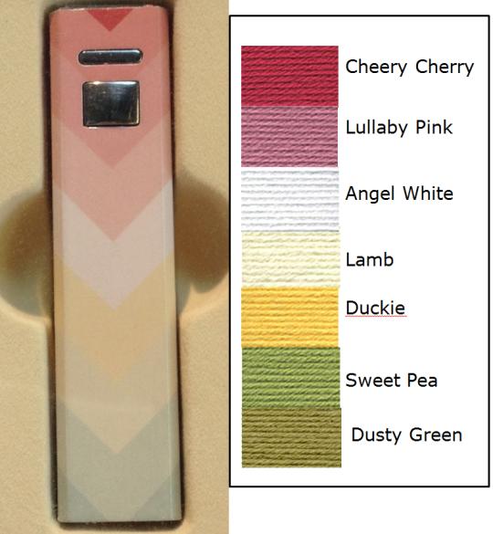 Vanna's Choice Colours