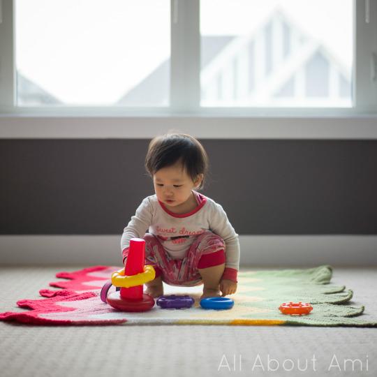 Bold & Bright Chevron Baby Blanket