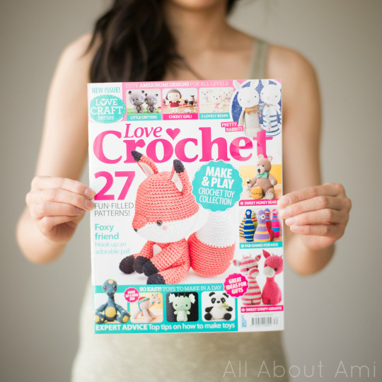 Love Crochet Magazine Feature All About Ami