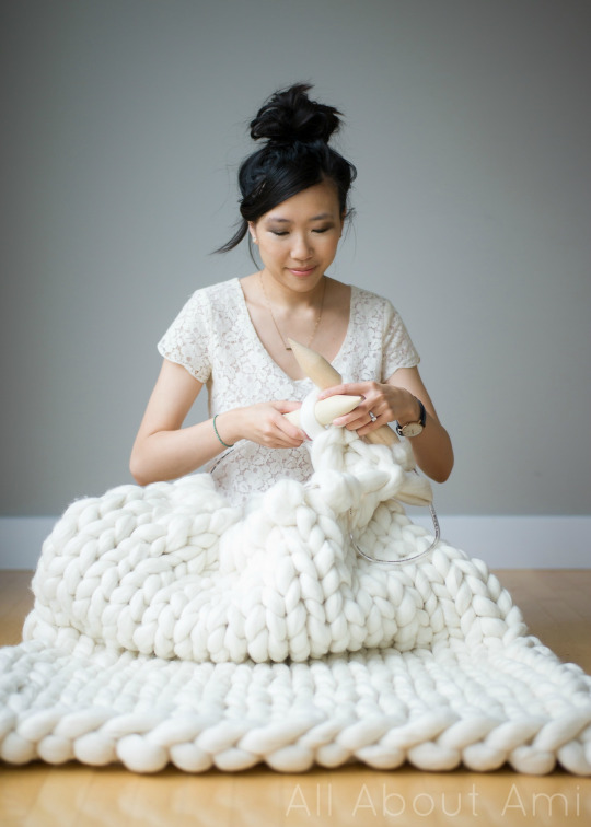 Extreme Knitted Blanket All About Ami