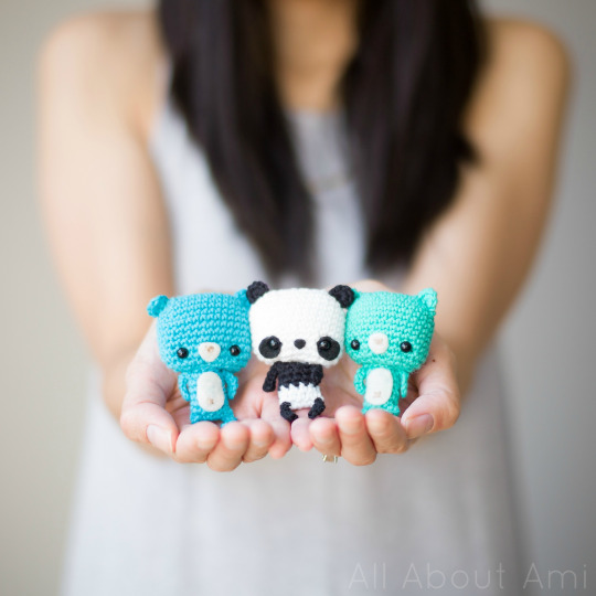 Panda Amigurumi (tutorial) - YouTube | 540x540