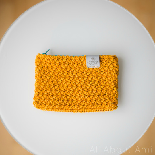Crochet Star Stitch Pouch