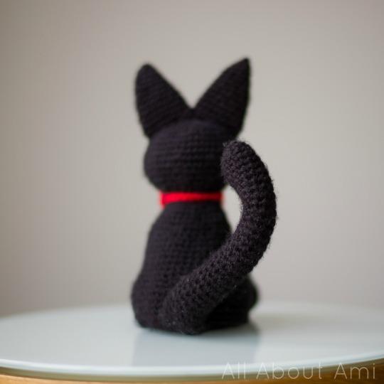 Amigurumi Pattern Free Rabbit : Jiji the Black Cat - All About Ami