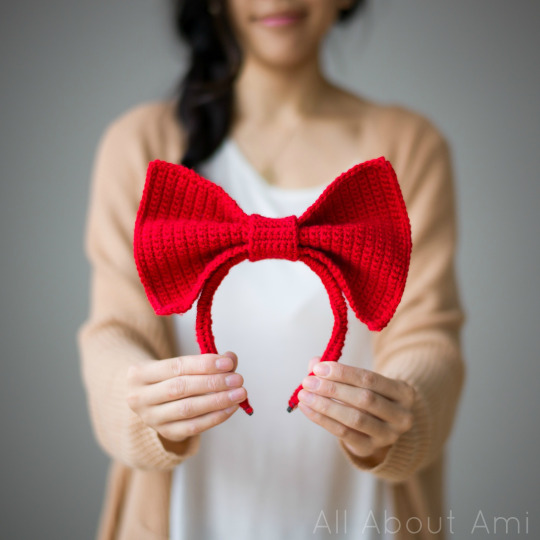 Kiki s Delivery Service: Bow Headband Pattern - All About Ami