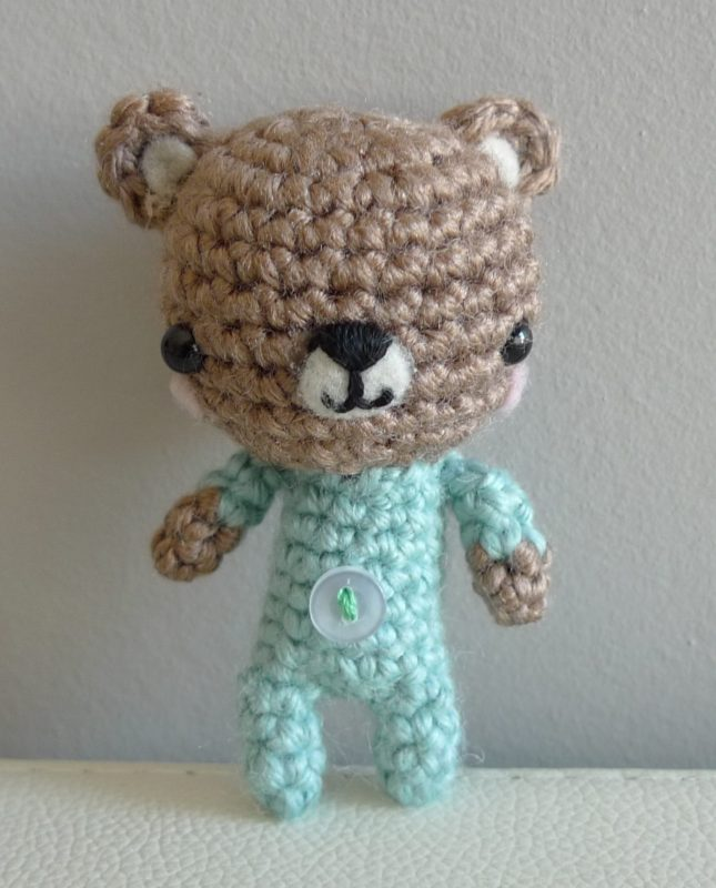 Crochet P.J. Teddies