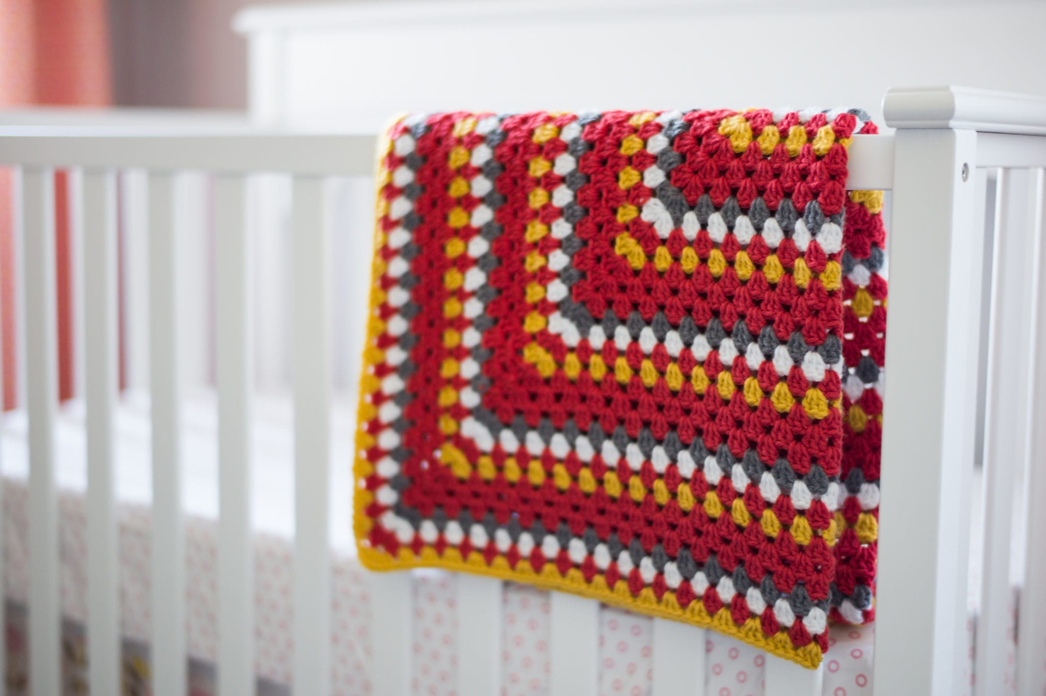 Granny Square Baby Blanket - All About Ami