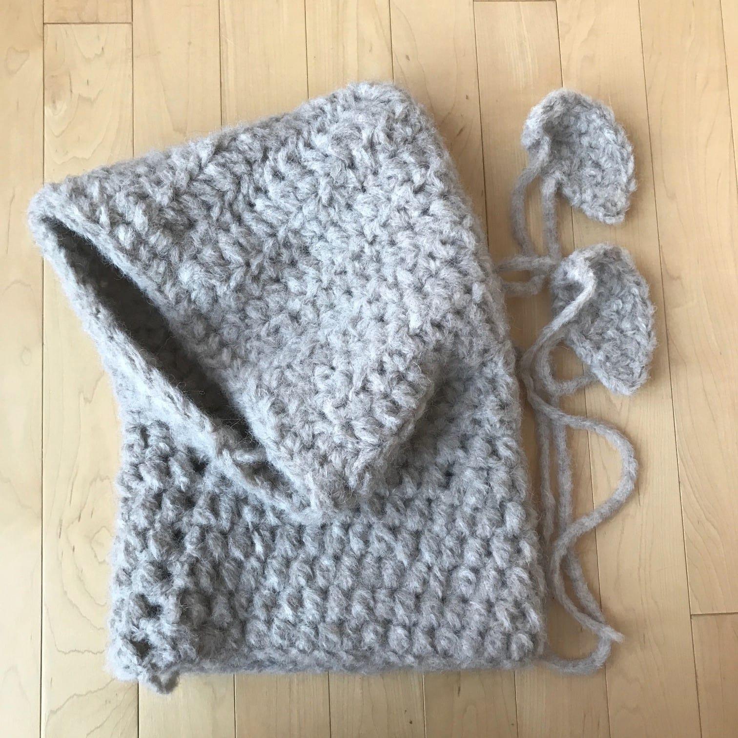 Crochet Bear Cowls All About Ami