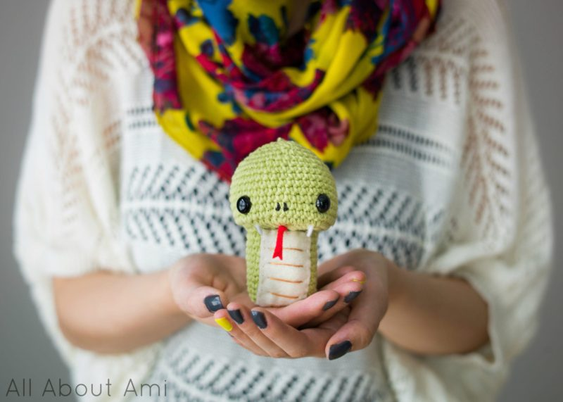 Chinese New Year Crochet Snake