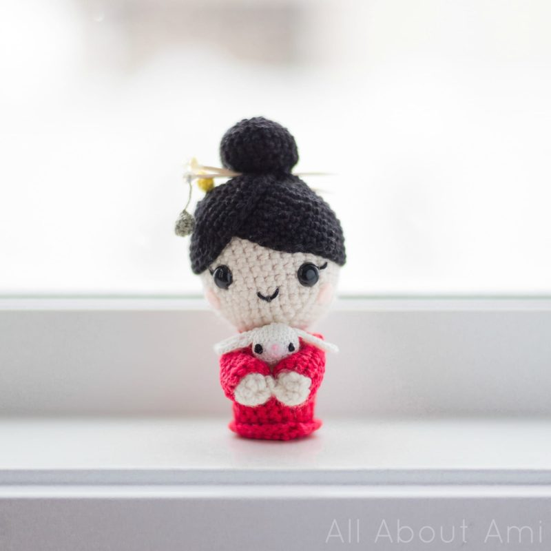Crochet Chinese New Year Doll
