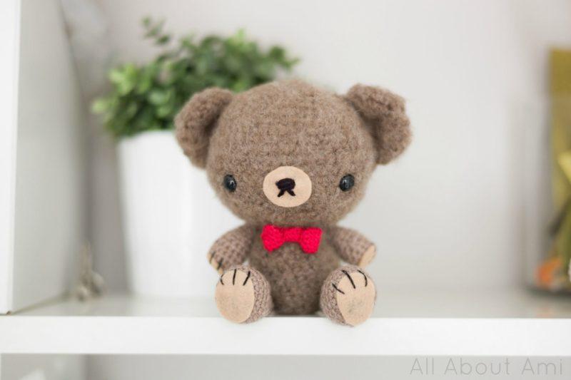 Crochet Valentine Teddy