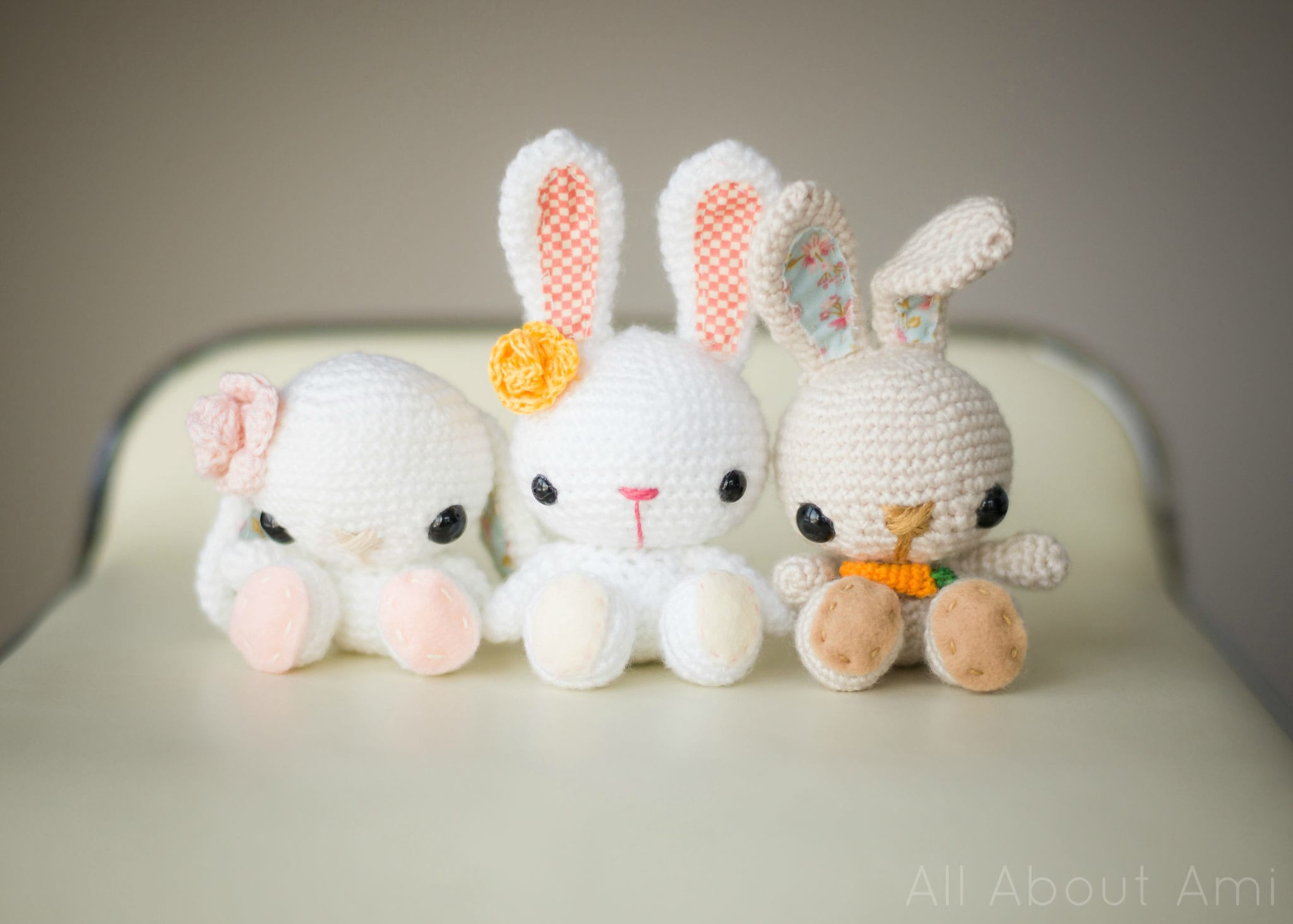 Pattern spring bunnies all about ami crochet spring bunnies 1 bankloansurffo Choice Image