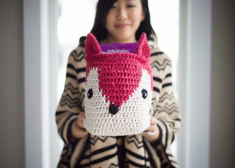 Fox Basket/Pillow