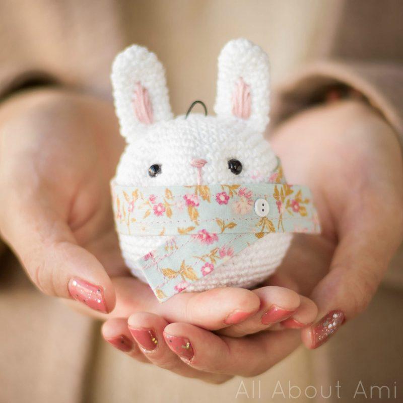 Amigurumi Bunny Ornament
